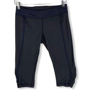 Lululemon gray cropped leggings size 8